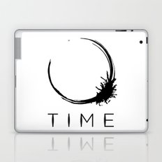 Arrival - Time Black Laptop & iPad Skin
