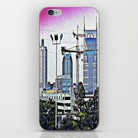 nashville iPhone & iPod Skins featuring Nashville Grit by Andooga Design