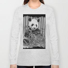 Panda Bear Cutie Long Sleeve T-shirt