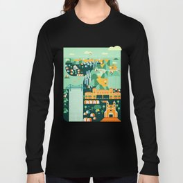 Floripa Brazil Long Sleeve T-shirt