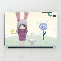 friendship iPad Cases featuring Friendship by Esther Ilustra