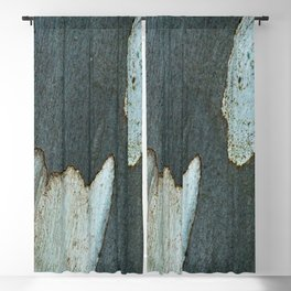 Eucalyptus Tree Bark and Wood Abstract Natural Texture 33 Blackout Curtain