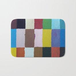 Rectangulos de color Bath Mat