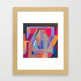 Maskine 8 Framed Art Print