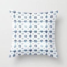 tiles - Portuguese azulejos  Throw Pillow