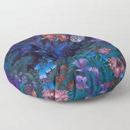 Space Garden Cosmos Floor Pillow