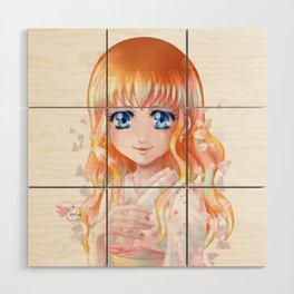 Hana floraison Wood Wall Art