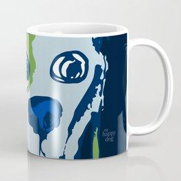 Anton - blue and lime Coffee Mug