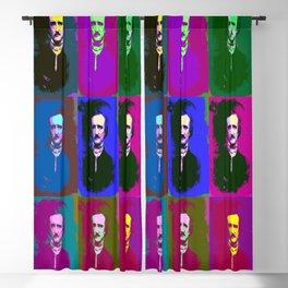 Edgar Allan Poe Pop Art Blackout Curtain