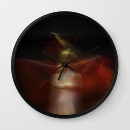 Dancing flames Wall Clock