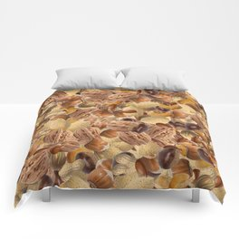 Mixed Nuts Comforters