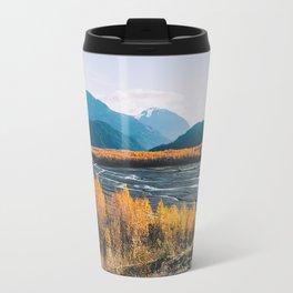 Alaskan Autumn - Kenai Fjords National Park Travel Mug