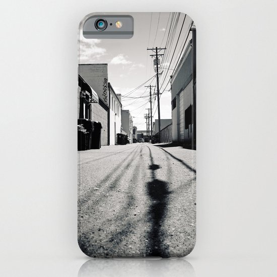 Alley shadows iPhone & iPod Case