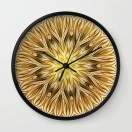 Mndala Gold 35 Wall Clock