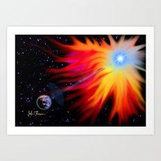 Super Nova 2 Art Print