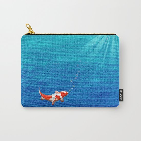 the last koi Carry-All Pouch