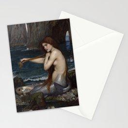 Mermaid Painting John William Waterhouse Stationery Cards