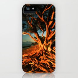 Oceanfront Tree iPhone Case