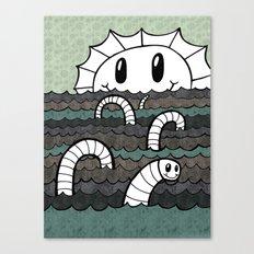 Sea Monster v2 Canvas Print