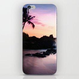 Paako Beach Sunset Jewels iPhone Skin