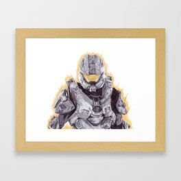 Halo Master Chief Framed Art Print