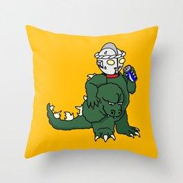 It's Ultra Tough Man Throw Pillow