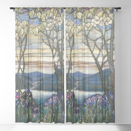 Louis Comfort Tiffany - Decorative stained glass 5. Sheer Curtain