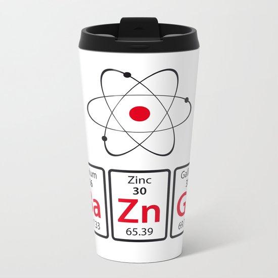BaZnGa! Metal Travel Mug