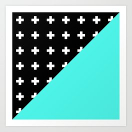Memphis pattern 78 Art Print