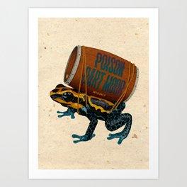 Poison Dart Moore Art Print