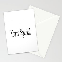 You're Special Typography Stationery Cards