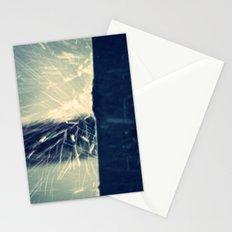 rain splash Stationery Cards