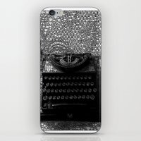writer iPhone & iPod Skins featuring Paperback Writer by liberthine01