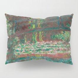 Water Lillies and Bridge by Claude Monet Pillow Sham