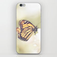 Love of a butterfly iPhone & iPod Skin