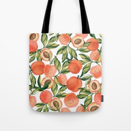 Peach Love Tote Bag