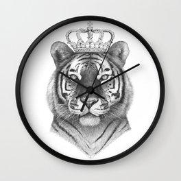 The Tiger King Wall Clock