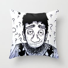 Clueless? Throw Pillow