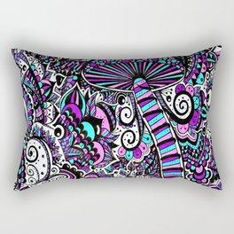 Magic Mushroom Rectangular Pillow