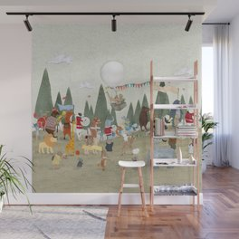 the great parade Wall Mural