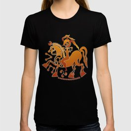 Boudicca takes the reigns. T-shirt