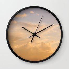 Sky Dune Wall Clock