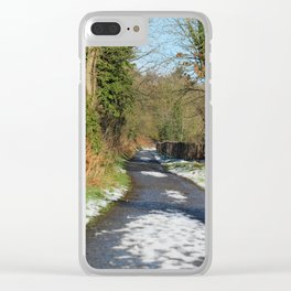 A Run on the Banks Donegal Ireland Clear iPhone Case