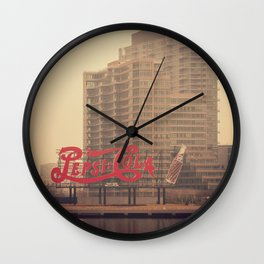 old fashioned cola... Wall Clock