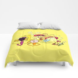 Freak Party Version 3 Comforters