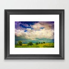 In a Landscape Framed Art Print