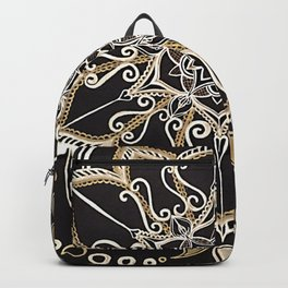Silver & Gold Backpack