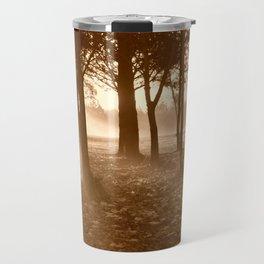 Misty Winters Morning Travel Mug