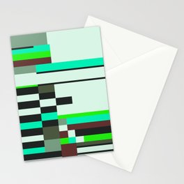 Geometric design - Bauhaus inspired Stationery Cards