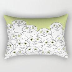 Group of Owls Rectangular Pillow